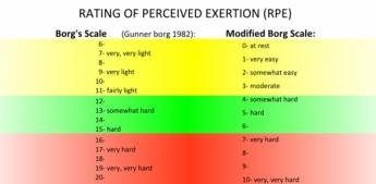 Modified Borg Scale